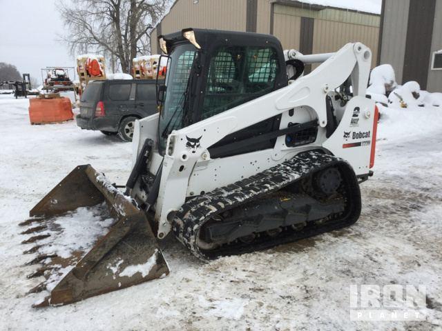 2016 Bobcat T770 Compact Track Loader in Shakopee, Minnesota, United
