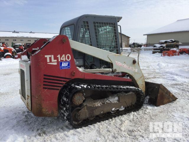 Takeuchi TL140 Compact Track Loader in Loretto, Minnesota, United