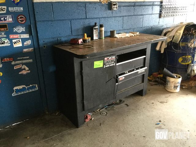 Pleasant Craftsman Metal Work Bench 60 X 24 Inches Contents L 044 Pabps2019 Chair Design Images Pabps2019Com