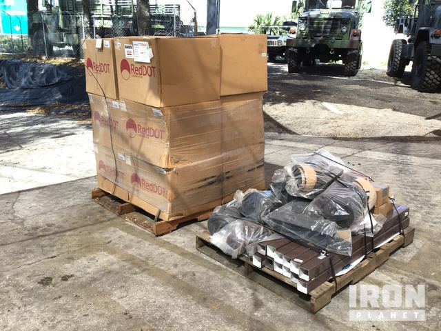 Lot of (12) Humvee Air Conditioning Units, & Miscellaneous