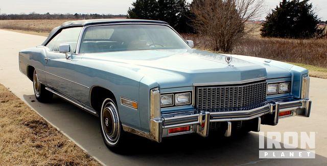 1976 Cadillac Eldorado Convertible in Oklahoma City, Oklahoma