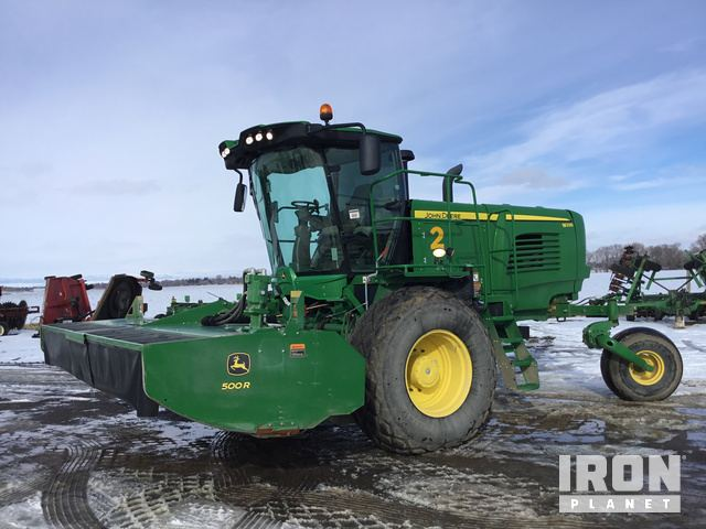 2016 John Deere W235R SP Swather/Windrower in Gooding, Idaho
