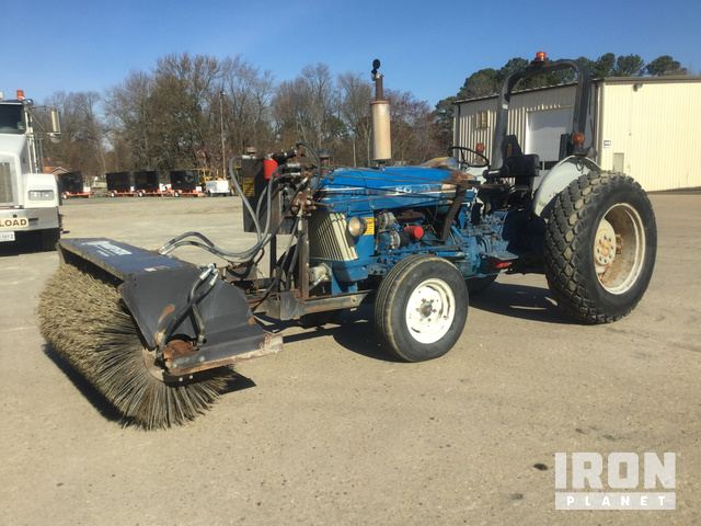 Ford 3910 Broom Tractor In Virginia Beach Virginia United