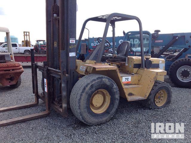 Noble R80 Rough Terrain Forklift in Tipton, California