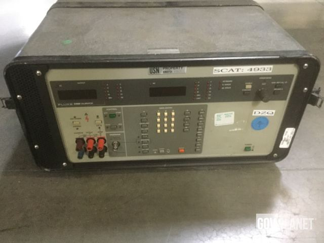 Surplus Fluke 5102B Meter Calibrator in North Las Vegas