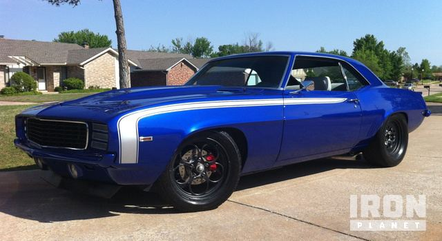 1969 Chevrolet Camaro Pro-Street Coupe in Oklahoma City