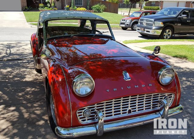 1960 Triumph Tr3 In Oklahoma City Oklahoma United States