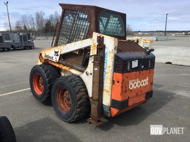 Surplus Bobcat 753 Skid-Steer Loader in Anchorage, Alaska, United