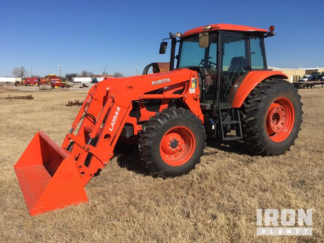 2017 Kubota M6S111D 4WD Tractor in Enid, Oklahoma, United States