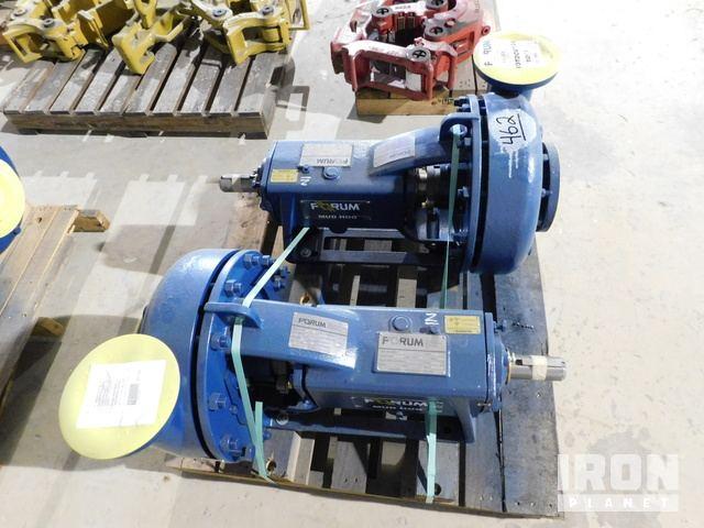 Lot 462 - QTY OF (2) FORUM Mud Hog 4x3x13 Centrifugal Pump
