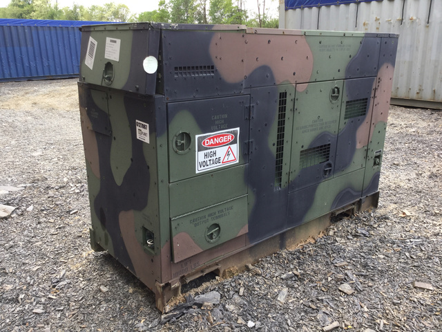 L3 MEP-806B 60kW Gen Set