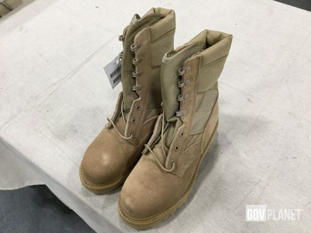 08370afba5e Surplus Lot of (92) Pairs of Thorogood Hot Weather Combat Boots in ...