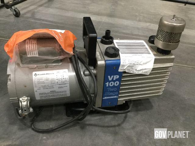 Surplus Lot of (2) Savant VP 100 Vacuum Hand Pumps in