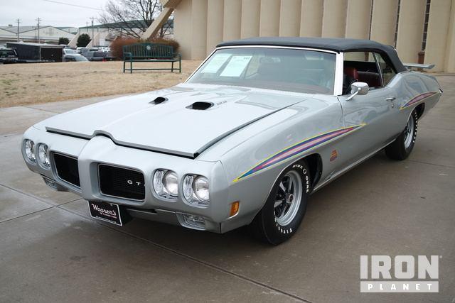 1970 Pontiac GTO Judge Ram Air Convertible in Oklahoma City