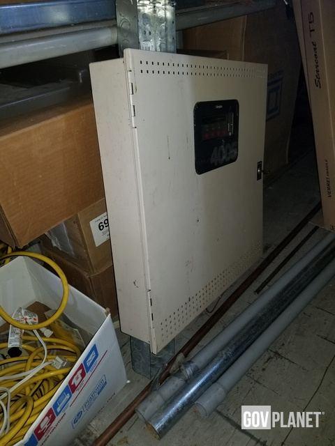 1 Model 4100 Simplex Fire Alarm Control Panel 1 Model 4005