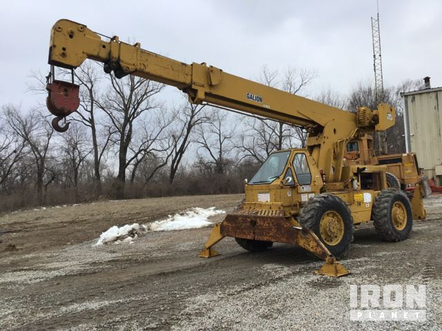 Galion 125 Rough Terrain Crane In Edwardsville Kansas