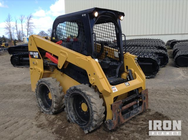 2017 Cat 226D Skid-Steer Loader in Grand Rapids, Michigan