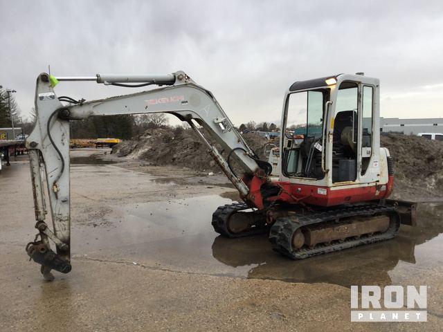 Takeuchi TB145 Mini Excavator in Libertyville, Illinois, United