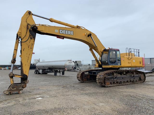 John Deere 750 Track Excavator
