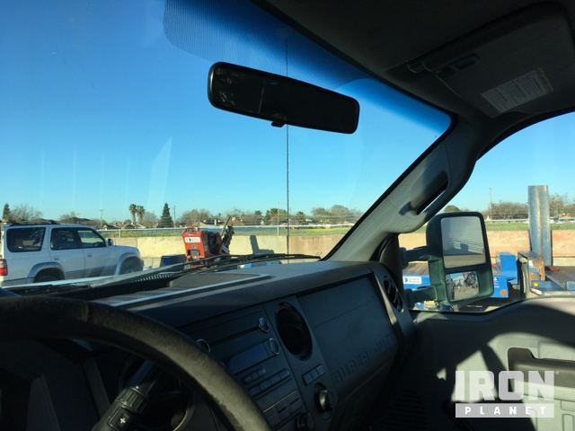 2012 Ford F-450 Super Duty Flatbed Truck in Merced, California