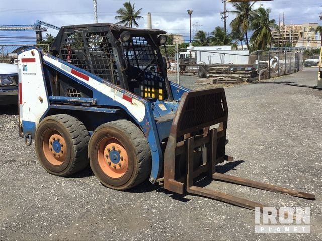 Bobcat 743 Skid-Steer Loader in Kapolei, Hawaii, United