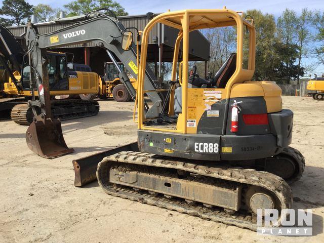 2012 Volvo ECR88 Mini Excavator in Baton Rouge, Louisiana