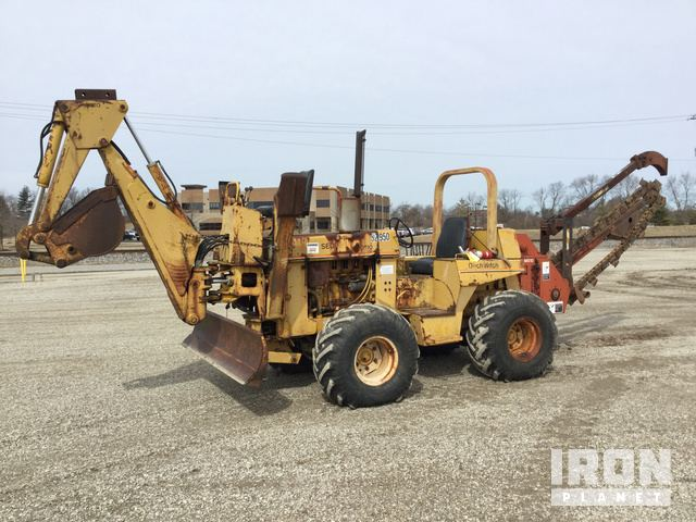 Ditch Witch 6510DD Trencher in Clinton, Indiana, United