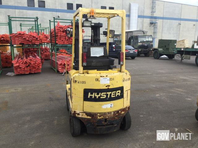 Surplus Hyster E45XM2-27 Electric Forklift in Yermo, California