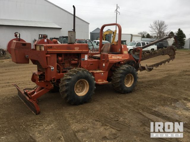 Ditch Witch 6510DD Trencher in Estelline, South Dakota, United