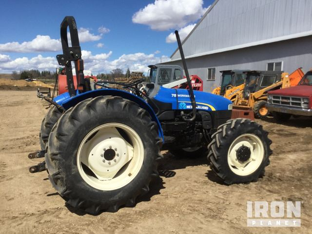 New Holland Workmaster 75 4WD Tractor in Estelline, South