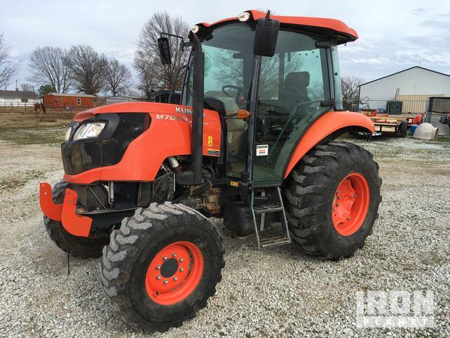 2014 Kubota M7060D 4WD Tractor in Okmulgee, Oklahoma, United States