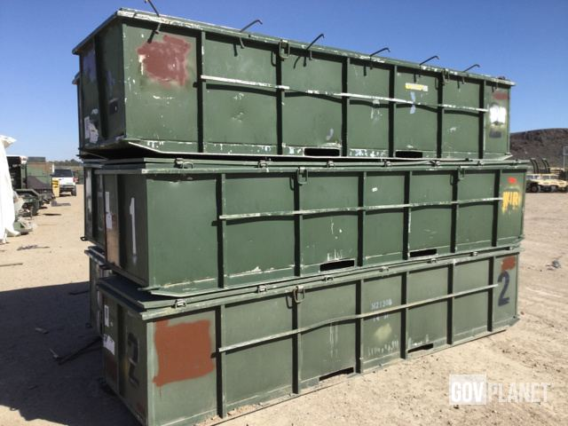 Surplus Lot of (6) MPC Containment Systems MPC-F-50K-AG Fuel Tanks