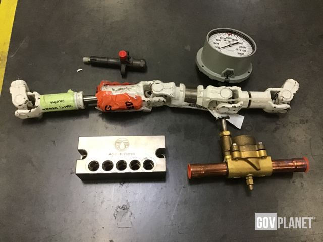 Surplus Fuel Injection Nozzles, Hydraulic Manifold