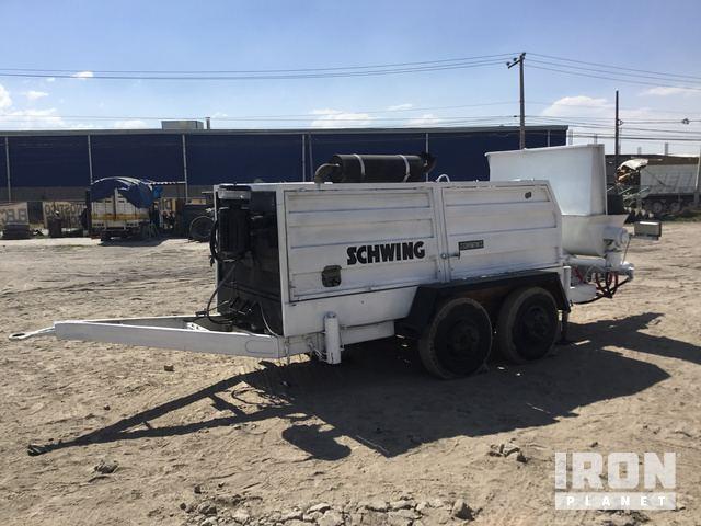 Schwing Concrete Pump in Lerma, EM, Mexico (IronPlanet Item #2059841)