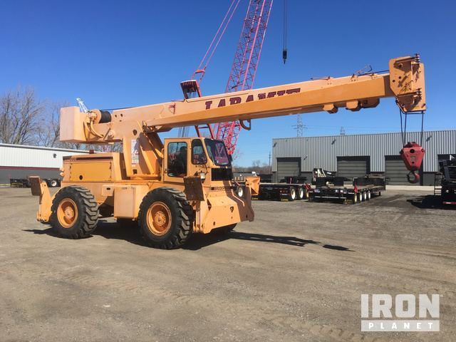 2002 Broderson RT-300-2B Rough Terrain Crane in Wixom
