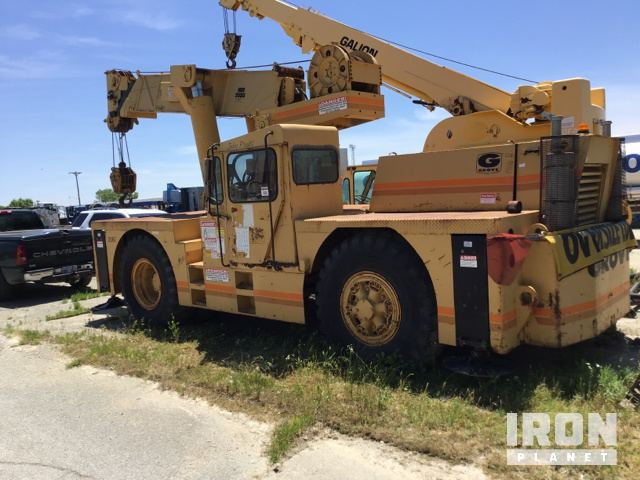 1979 Grove Industrial 2535 Carry Deck Crane