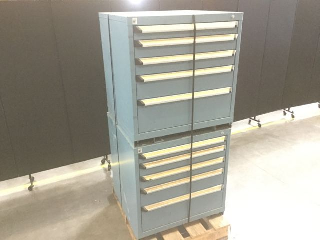 Surplus Lot Of (2) Rousseau Tool Cabinets In North Las Vegas, Nevada,  United States (GovPlanet Item #2100531)