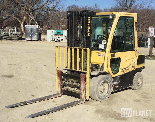 Hyster H60FT Pneumatic Tire Forklift, Forklift