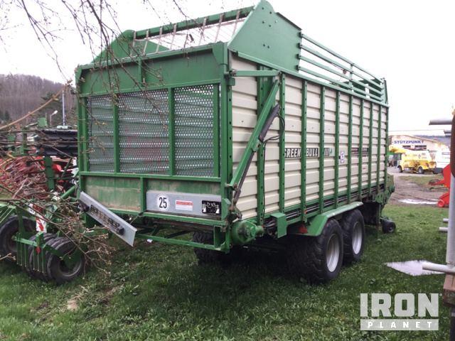 Industrias Lacasta Green Bull III (Camme) Silage Wagon in
