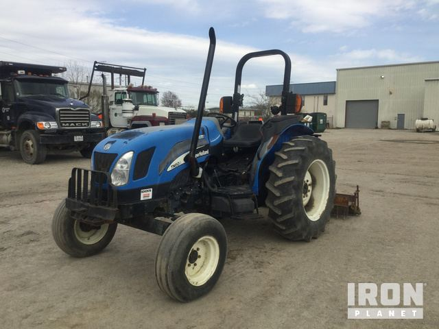 2005 New Holland TN60A 2WD Tractor in Chesapeake, Virginia