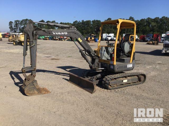2012 Volvo ECR38 Mini Excavator in Humble, Texas, United