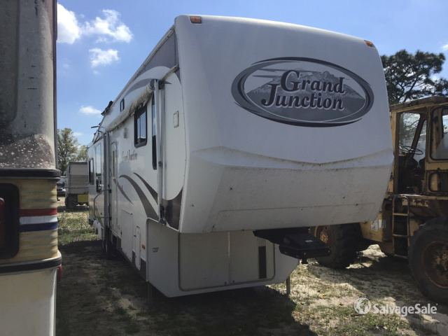2007 Dutchmen Grand Junction 34QRL Travel Trailer in