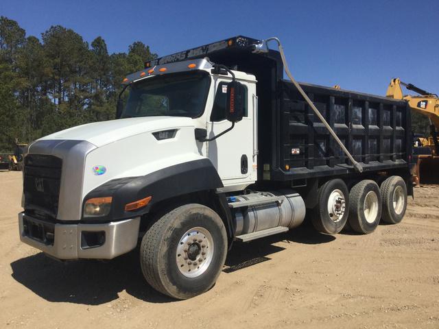 0bdd76475d 2015 Cat CT660S Tri A Dump Truck