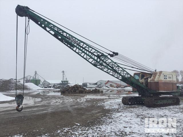 Bucyrus Erie 30B Lattice-Boom Crawler Crane in Dillon, Montana ... on