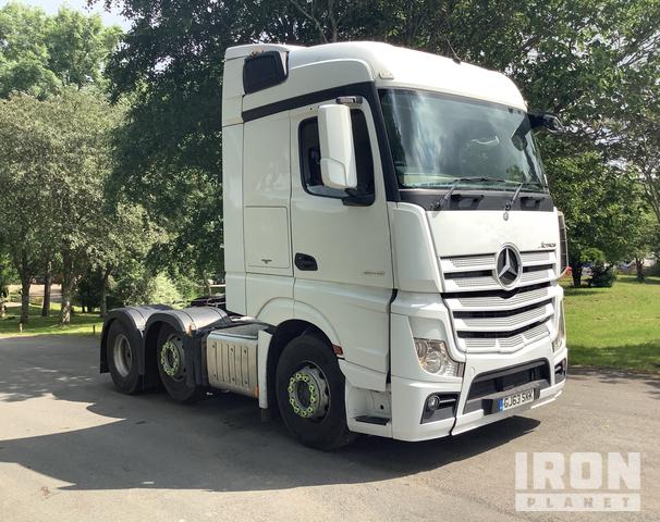 2013 Mercedes-Benz Actros 2545LS 6x2 Tractor Unit