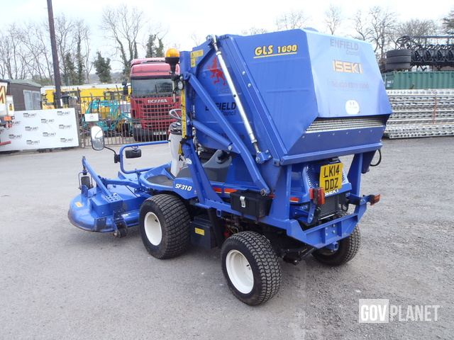 2013 Iseki SF310FH Mower Tractor in Ingleton, North