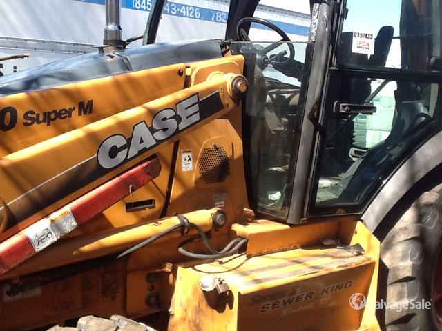 2006 Case 580 Super M Series 2 4x4 Backhoe Loader in