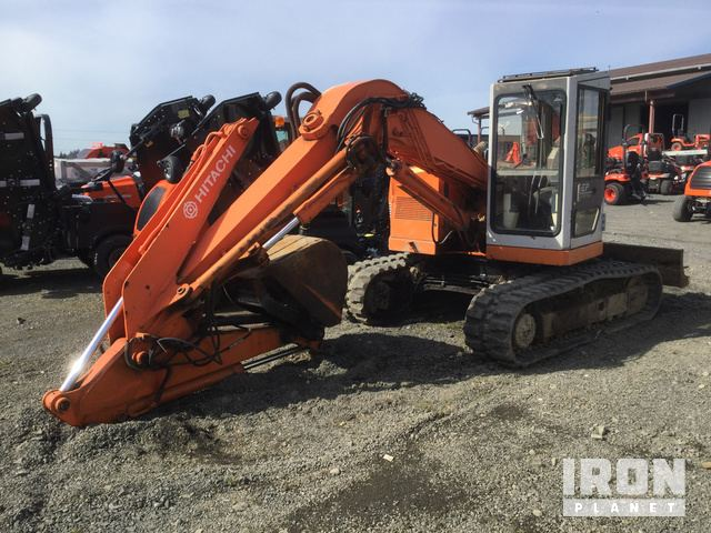 1993 Hitachi EX60URG Mini Excavator in Chehalis, Washington, United