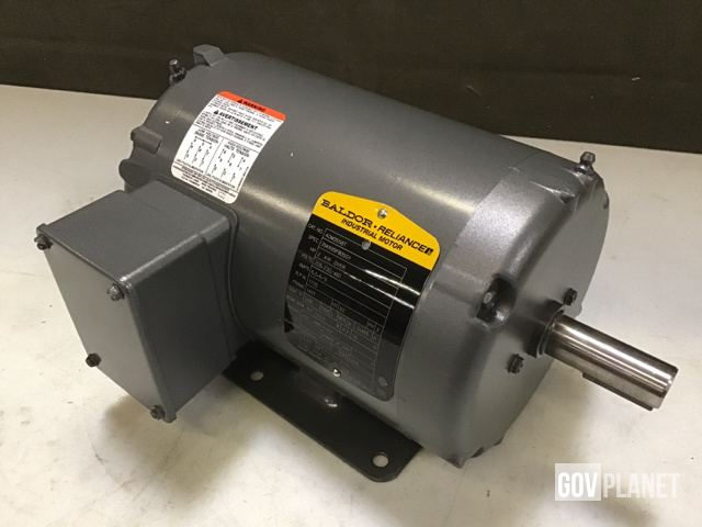 Surplus Baldor Aom3558t Ac Electric Motor Unused In North Las Vegas Nevada United States Govplanet Item 2147706