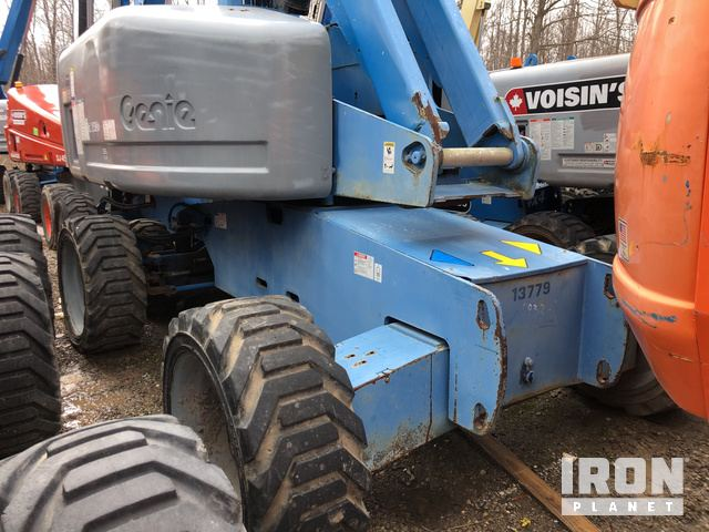 2007 Genie S-65 4WD Dual Fuel Telescopic Boom Lift in